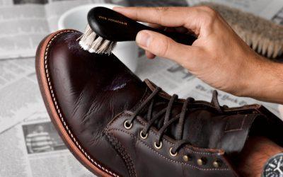 Ošetřování kožené obuvi